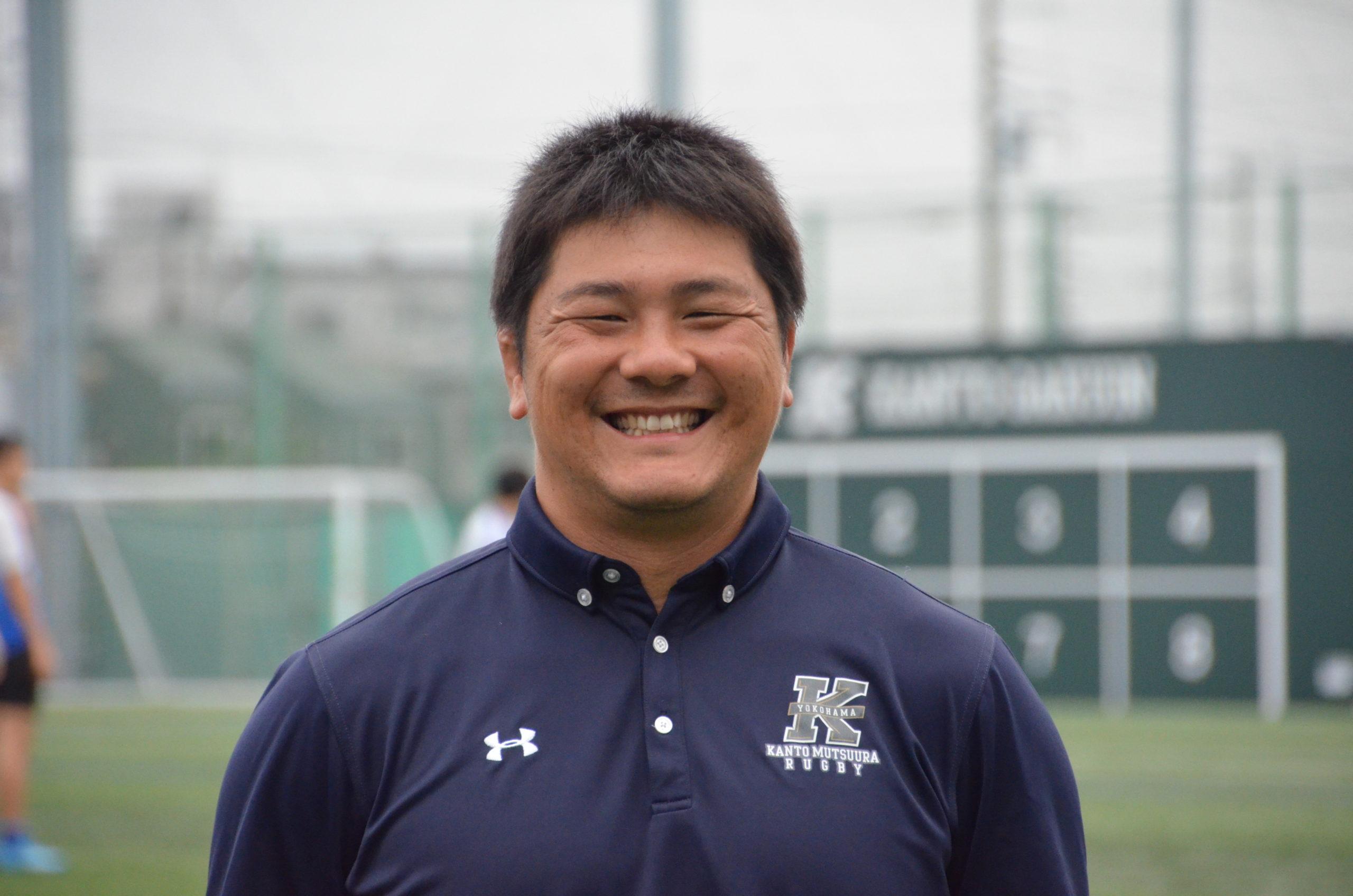 関東学院六浦ラグビー部 コーチ